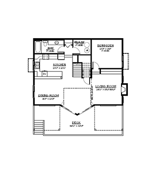 012g 0052 also Shed Door Diagram moreover Garage Apartment Plans likewise Two Bedroom Apartments besides Grade Level Entry 2000 Sq Ft. on carriage house living
