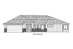 Bungalow – 2185 sq.ft.