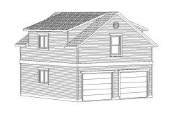 Carriage Home – 678 sq.ft.