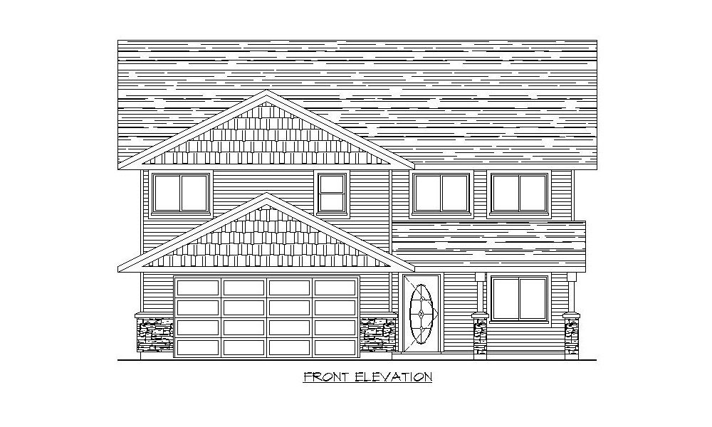 Grade Level Entry 1554 Home Plans By Harmony Homes