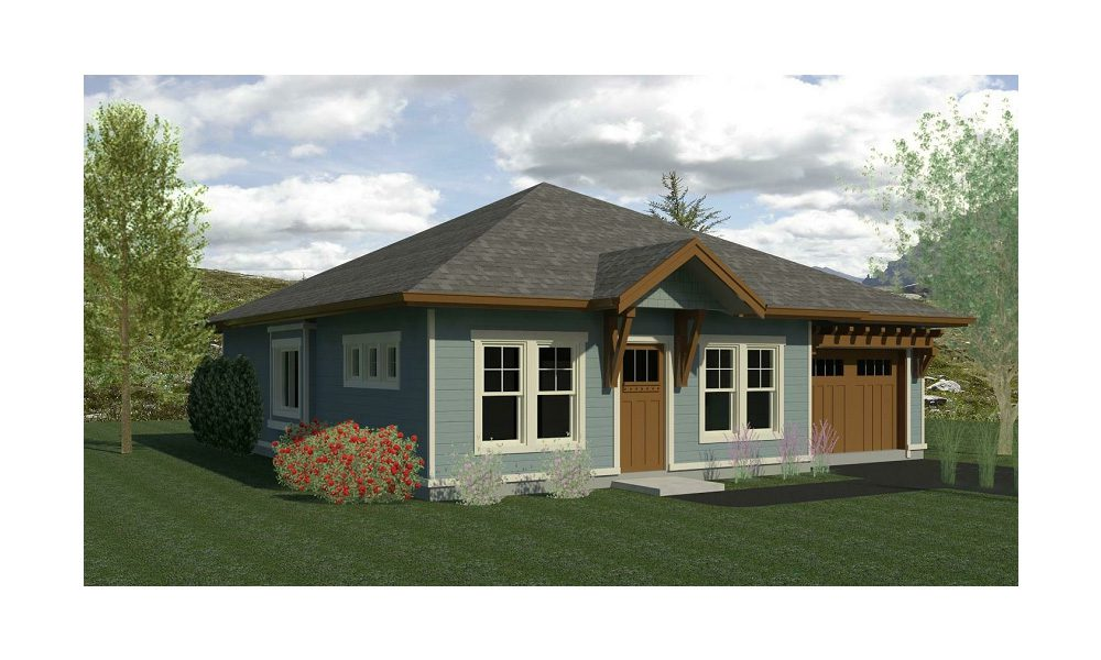Carriage Home 1074 Home Plans By Harmony Homes