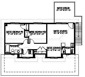 Carriage home 765 home plans by harmony homes for 3 bedroom carriage house plans