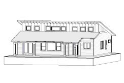 Bungalow – 1807 sq.ft.