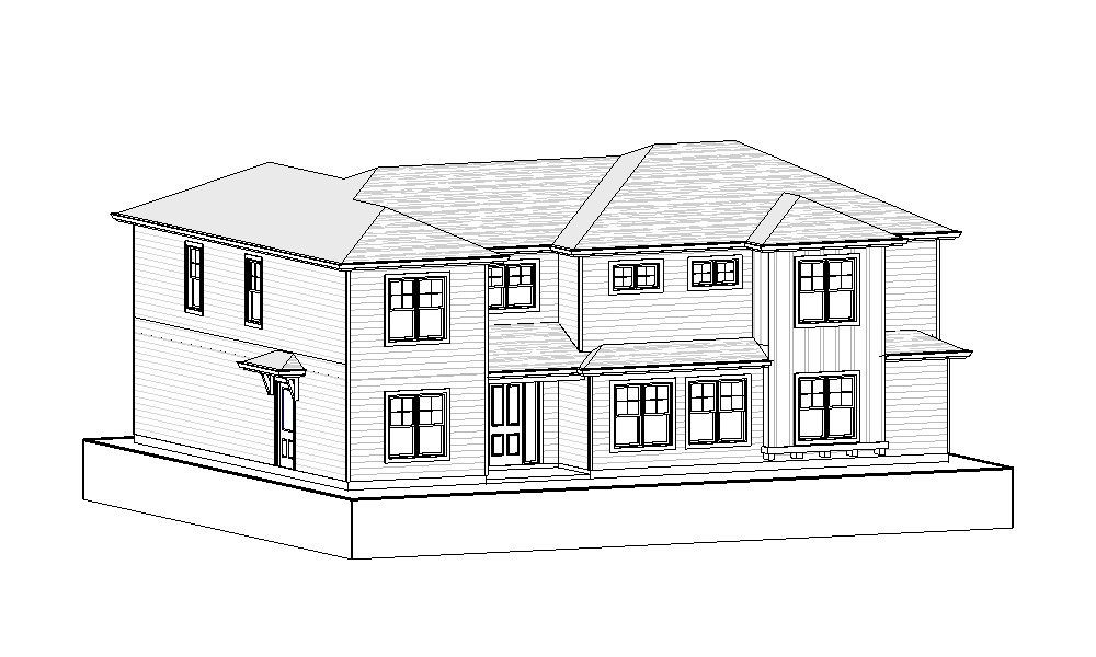 Two Storey – 2538 sq.ft.