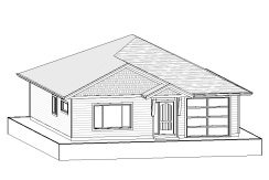 Carriage Home – 1072 sq.ft.