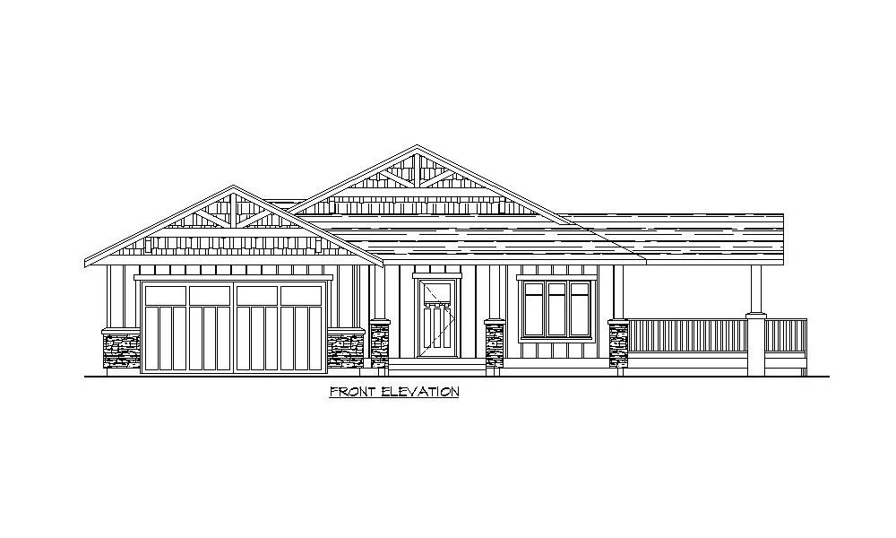 Bungalow – 1345 sq.ft.