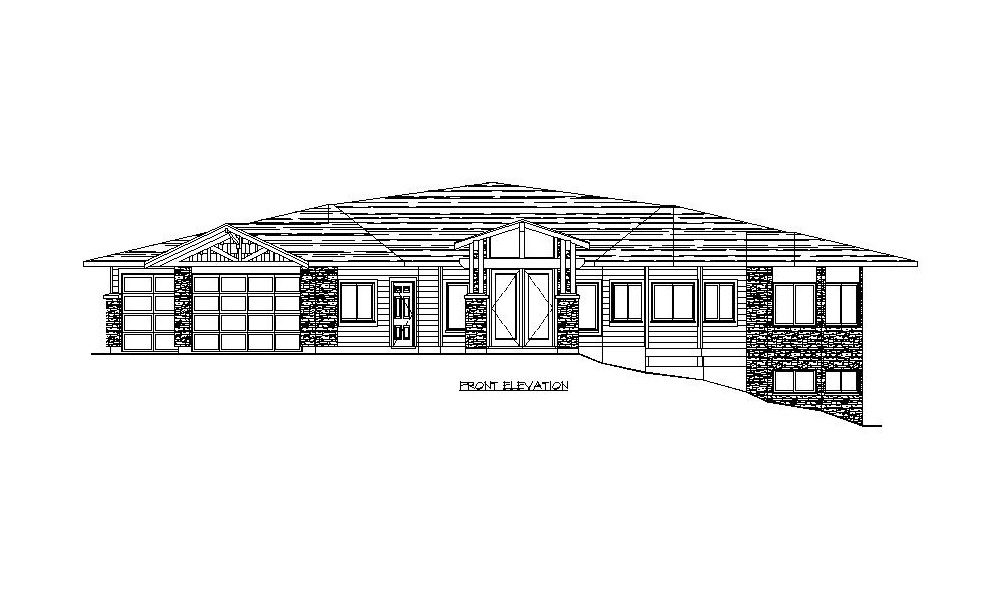 Bungalow – 2070 sq.ft.