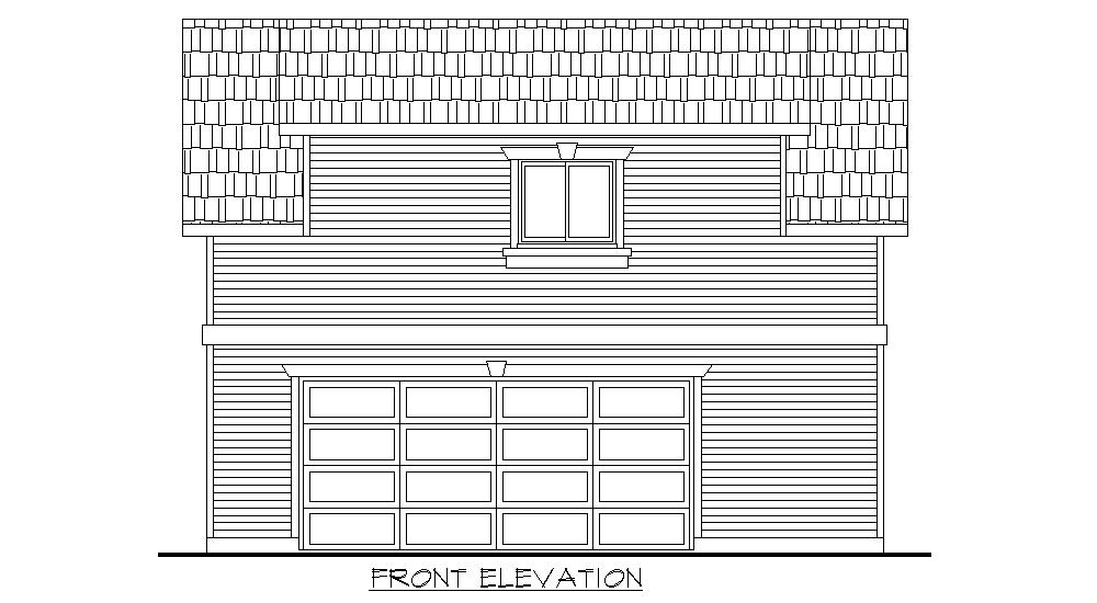Carriage Home – 725 sq.ft.