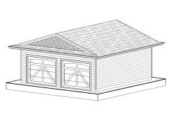 Garage/Workshop – 24ft.x24ft.