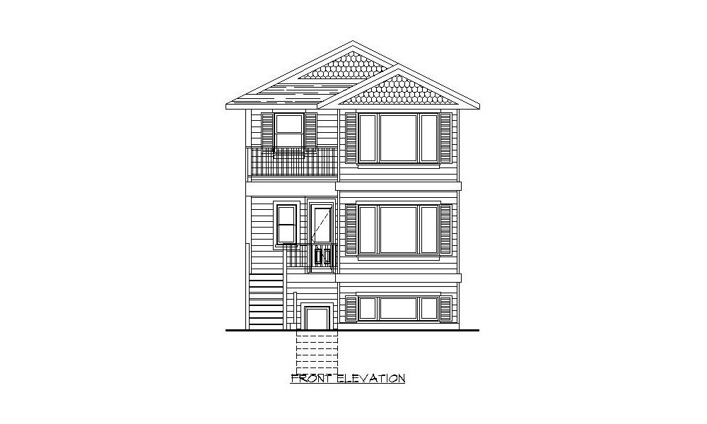 Two Storey – 1679 sq.ft.