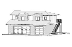 Carriage Home – 765 sq.ft.
