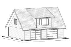 Carriage Home – 943 sq.ft.