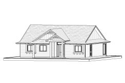 Bungalow – 1641 sq.ft.