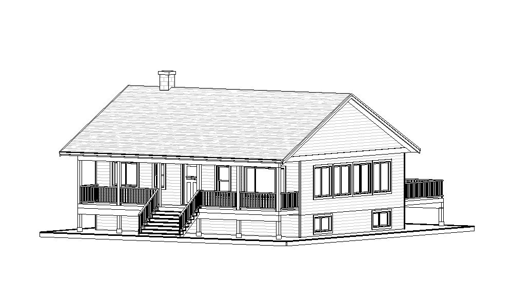 Bungalow – 1200 sq.ft.