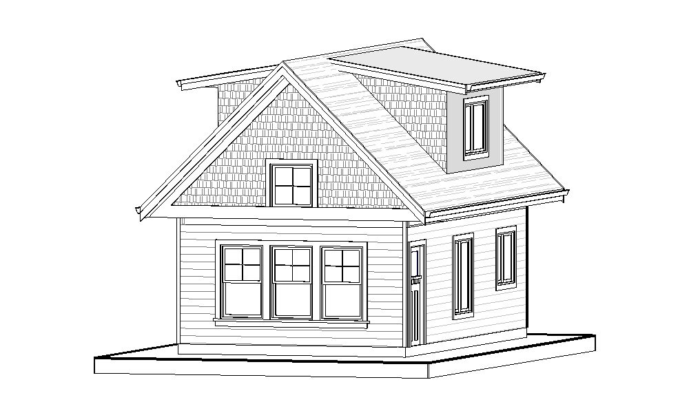 Carriage Home – 697 sq.ft.