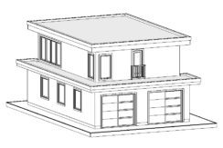 Carriage Home – 783 sq.ft.