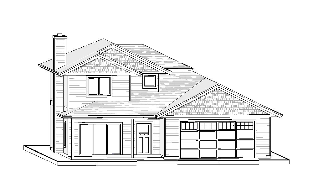 Two Storey – 1619 sq.ft.