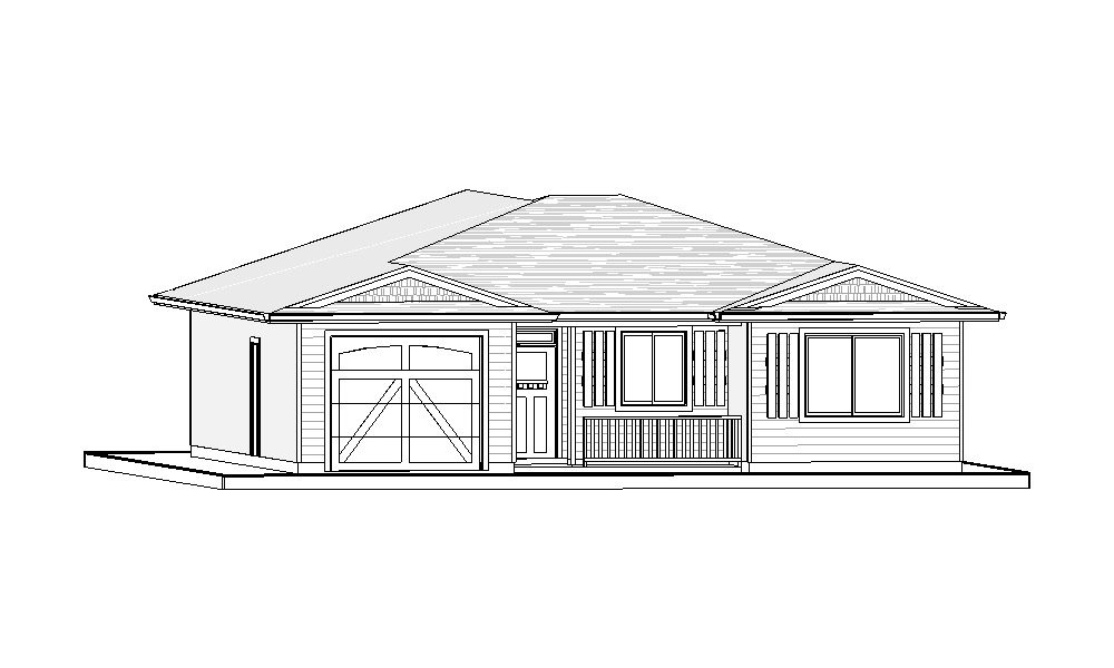 Bungalow – 1392 sq.ft.