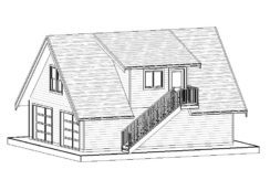 Carriage Home – 663 sq.ft.