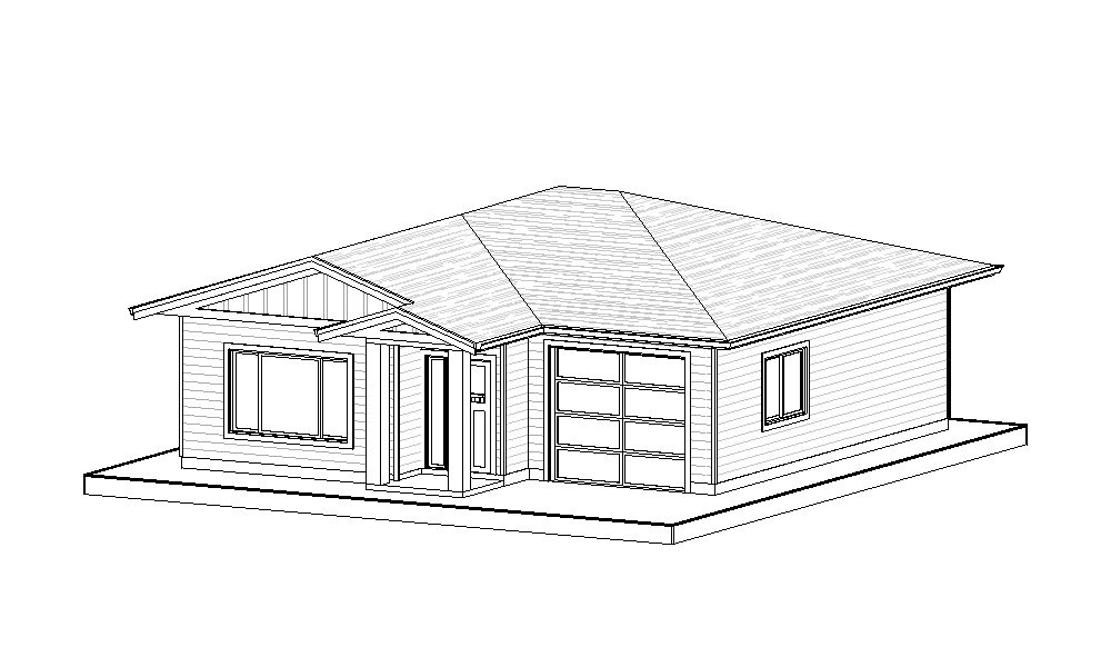 Carriage Home – 674 sq.ft.
